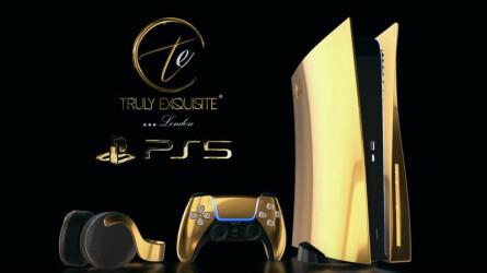 PlayStation 5 из золота и платины