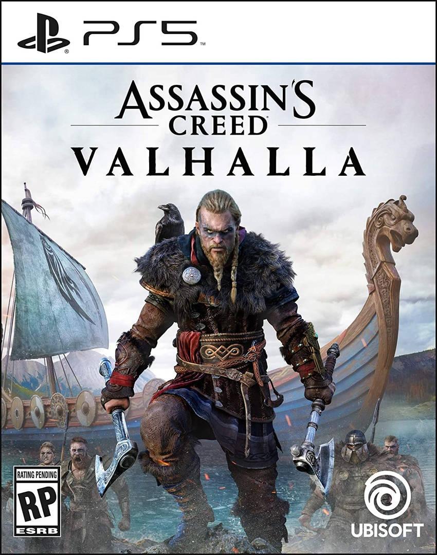Обложка Assassin's Creed: Valhalla для PS5