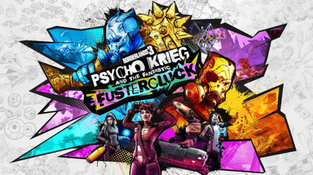 Трейлер к выходу Borderlands 3 — Psycho Krieg and the Fantastic Fustercluck на PS4
