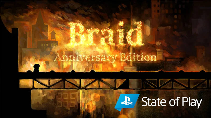 Braid, Anniversary Edition готовится к выходу на PS4 и PS5