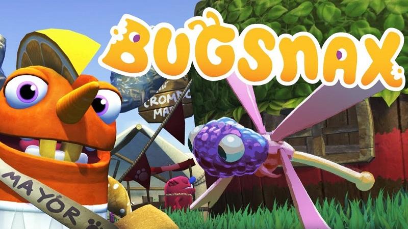 Геймплейная демонстрация в новом трейлере Bugsnax для PS5