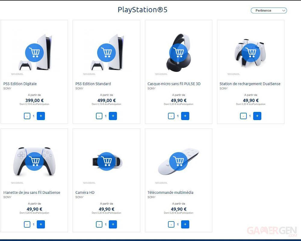 Вероятная цена PlayStation 5 и аксессуаров