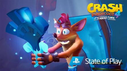 Новый геймплейный трейлер и информация о Crash Bandicoot 4: It's About Time