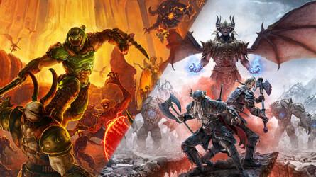 DOOM Eternal и The Elder Scrolls Online появятся на PS5 с поддержкой обратной совместимости