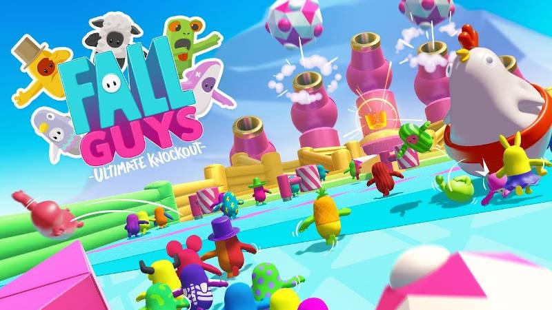Fall Guys: Ultimate Knockout — Самая скачиваемая игра за всю историю сервиса PS Plus
