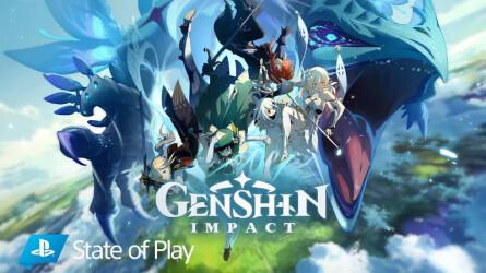 Демонстрация геймплея в новом трейлере Genshin Impact