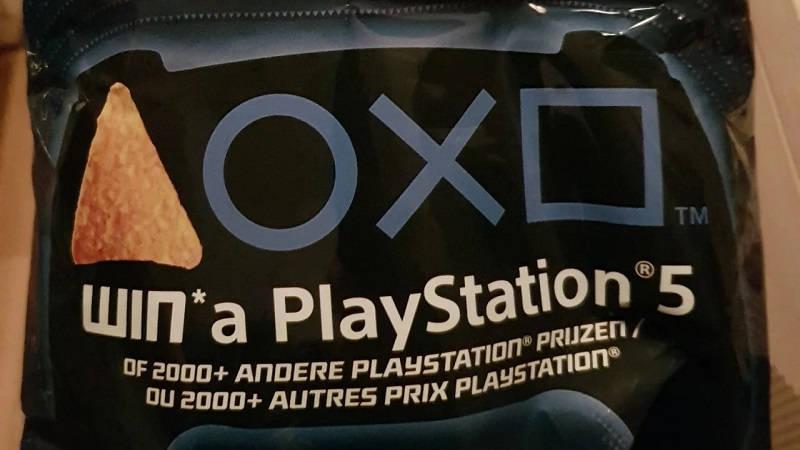 Реклама PlayStation 5 на чипсах Doritos