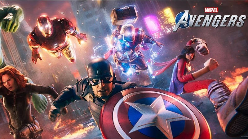 Рекламный ролик Marvel's Avengers