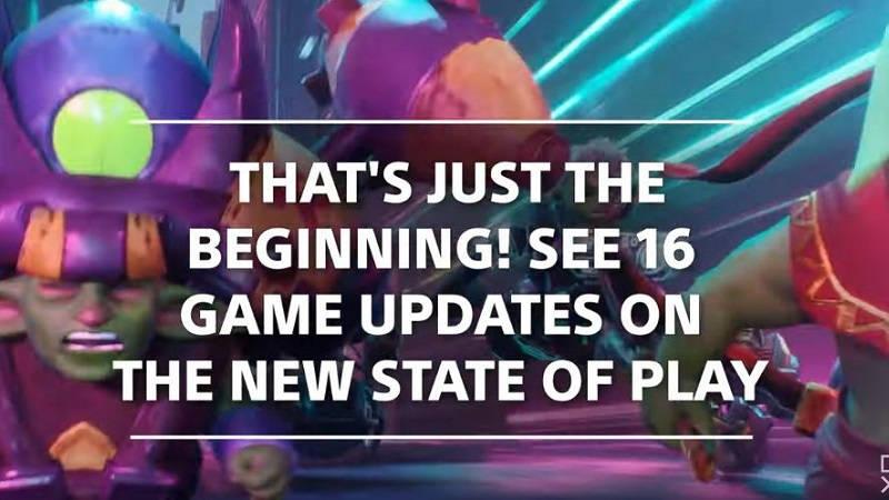 В новом выпуске State of Play нам обещают показать 16 игр
