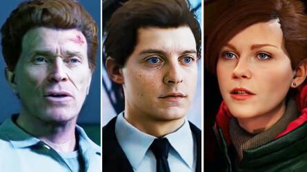 Тоби Магуайра и Кирстен Данст перенесли в Marvel's Spider-Man для PS4