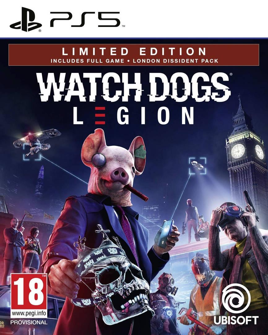 Обложка Watch Dogs: Legion для PS5