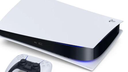 Упаковки и задний вид PlayStation 5