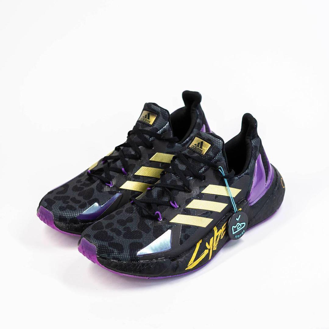 Кроссовки Adidas в стиле Cyberpunk 2077