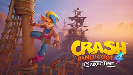14 минут геймплея Crash Bandicoot 4 за Тавну
