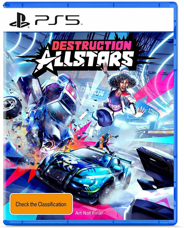 Обложка Destruction AllStars для PS5