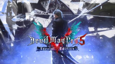 Трейлер к выходу Devil May Cry 5 Special Edition на PS5