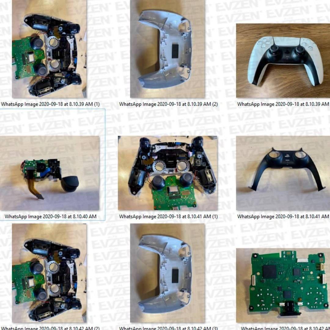 DualSense для PS5 в разобранном виде