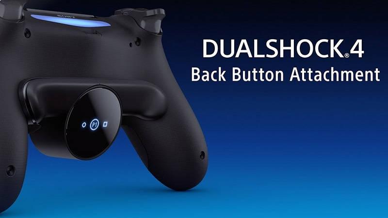Демонстрация накладных лепестков DUALSHOCK 4 Back Button Attachment в современных играх