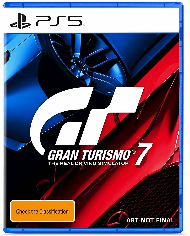 Обложка Gran Turismo 7 для PS5