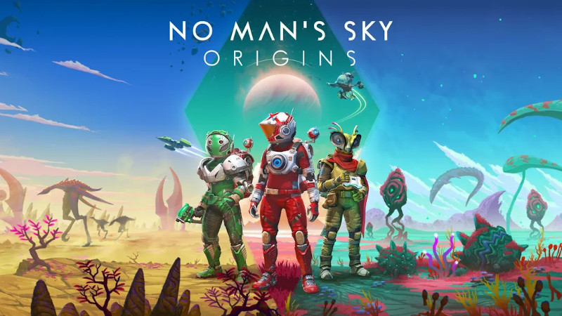 Origins — новое обновление для No Man's Sky