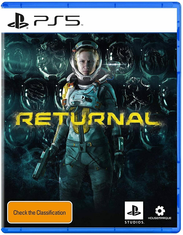 Обложка Returnal для PS5