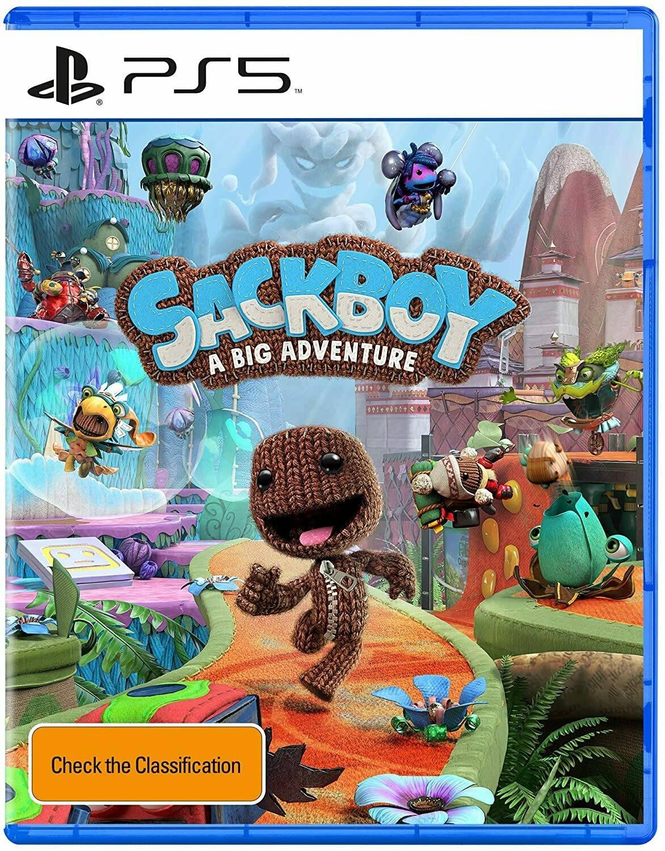 Обложка Sackboy: A Big Adventure для PS5