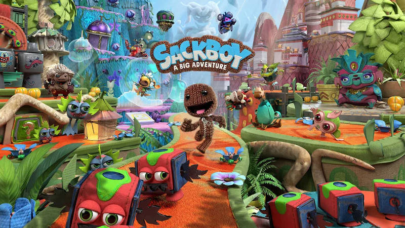 Подробности и детали предзаказа Sackboy: A Big Adventure для PS4 и PS5 в PS Store