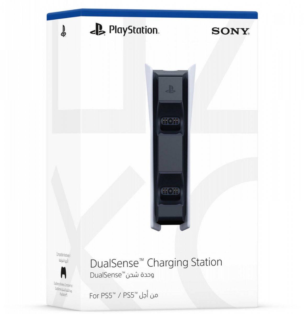 Упаковка зарядной станции DualSense
