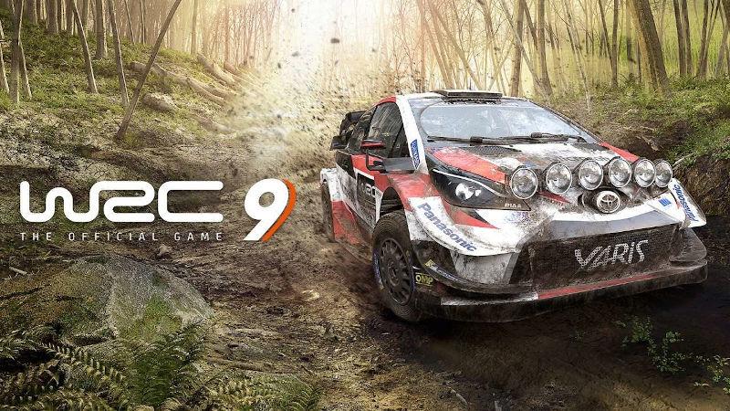 Геймплейное видео WRC 9 для PS5