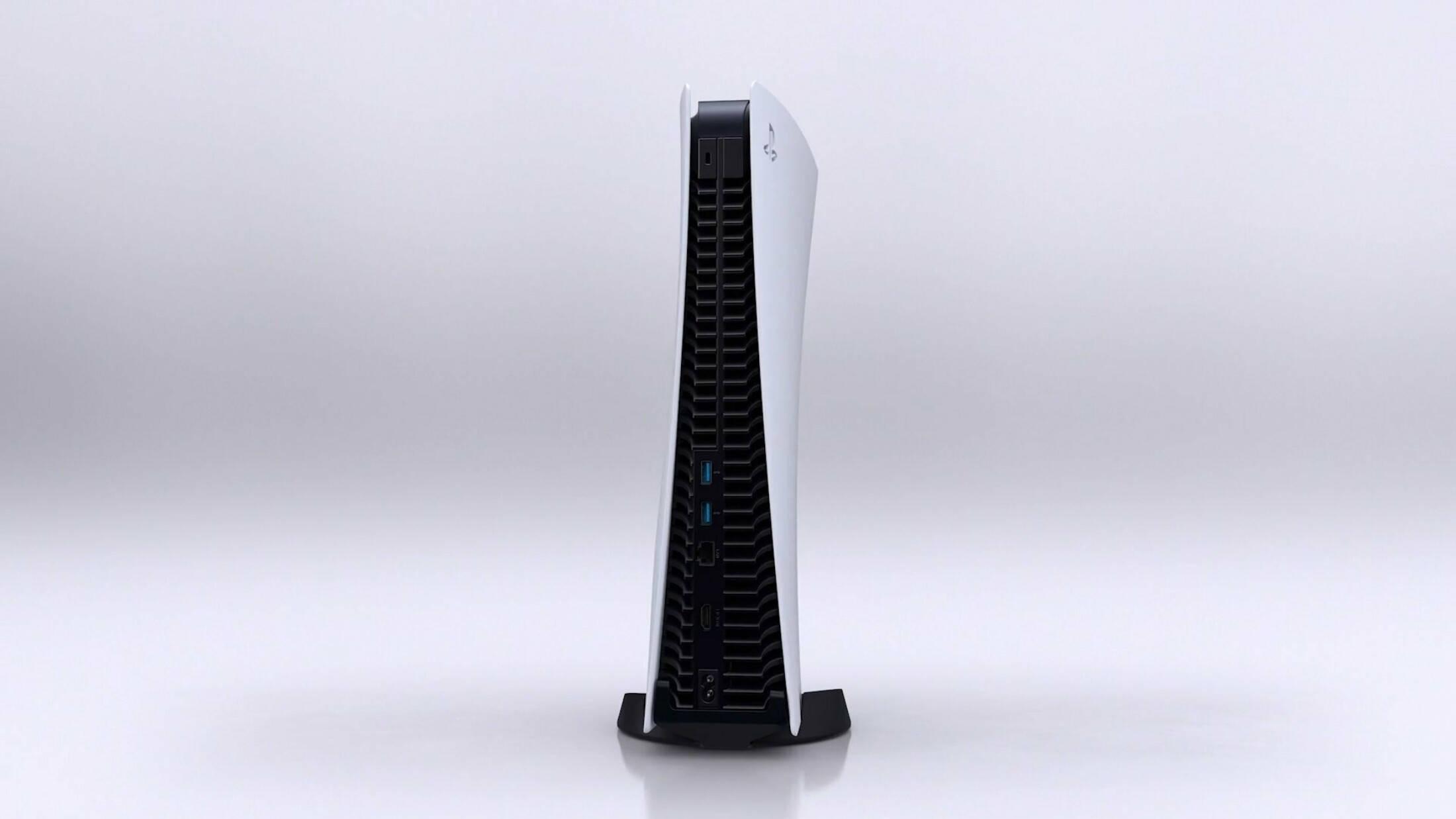 задний вид PlayStation 5