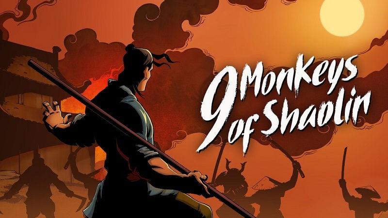 Геймплейный трейлер 9 Monkeys of Shaolin