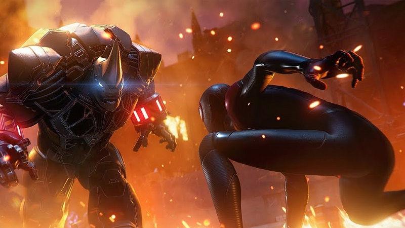 Битва с Носорогом в новом ролике Marvel's Spider-Man: Miles Morales от GameInformer