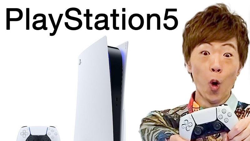 Демонстрация PlayStation 5 от японских YouTube-блогеров
