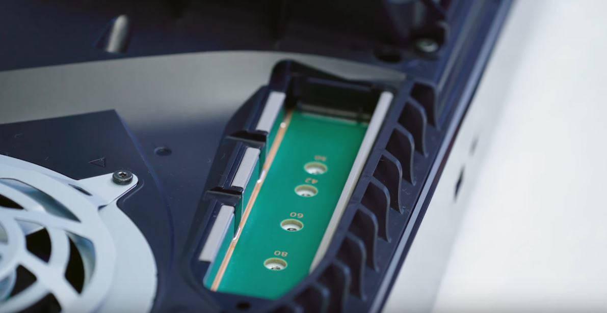 Разъем SSD m2 с поддержкой PCle 4.0