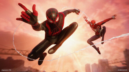 Геймплейное видео Spider-Man: Miles Morales от GameInformer
