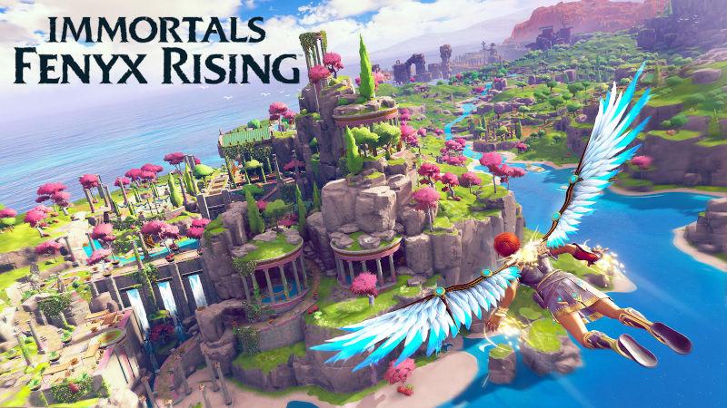 Анимационный трейлер Immortals Fenyx Rising