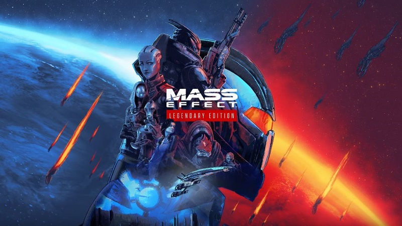 Трилогия Mass Effect: Legendary Edition анонсирована для PlayStation 5 и PlayStation 4