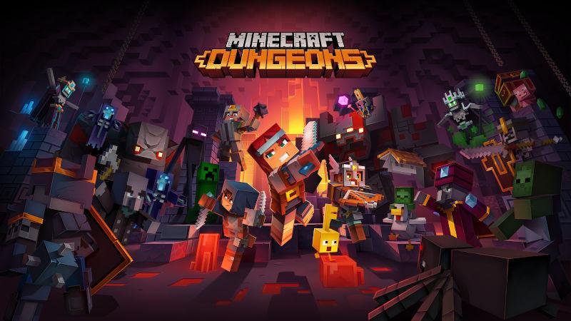 Minecraft Dungeons для PS4 получил кроссплатформенную поддержку