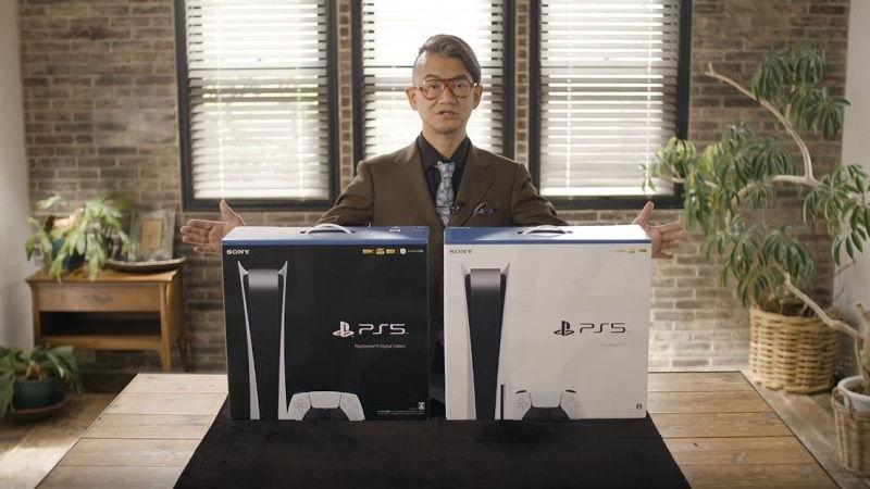 Распаковка PlayStation 5