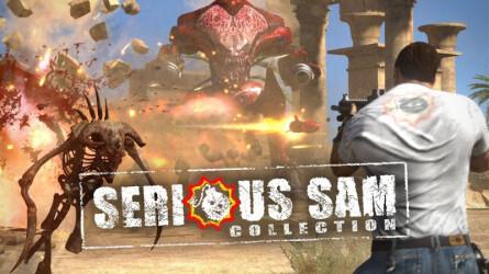 Трейлер к выходу Serious Sam Collection на PlayStation 4