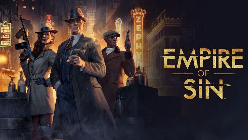 Трейлер к выходу Empire of Sin на PS4