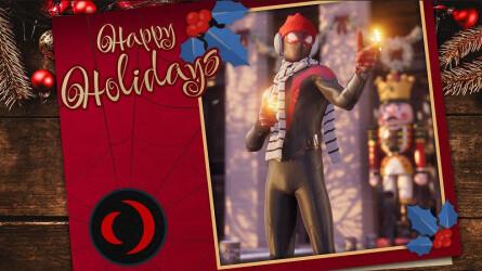 Праздничные открытки 2021 от разработчиков видеоигр
