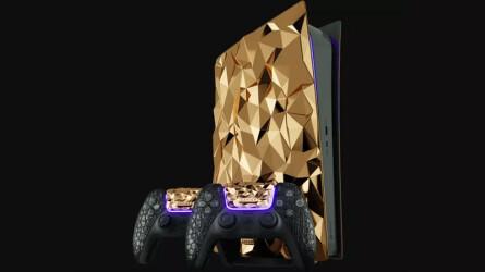 Лимитированная PlayStation 5 с 20 килограммами золота от российской компании Caviar