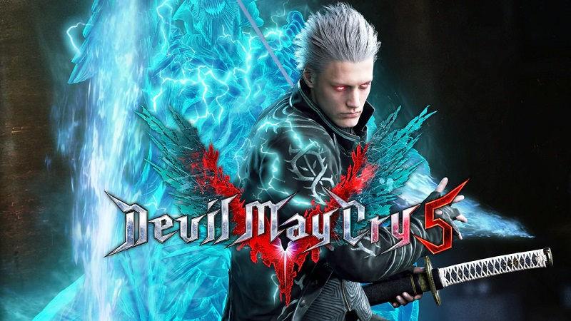 Возьмите на себя управление Вергилием в Devil May Cry 5