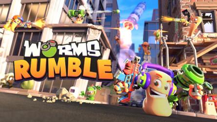 Трейлер к выходу Worms Rumble на PS5 и PS4
