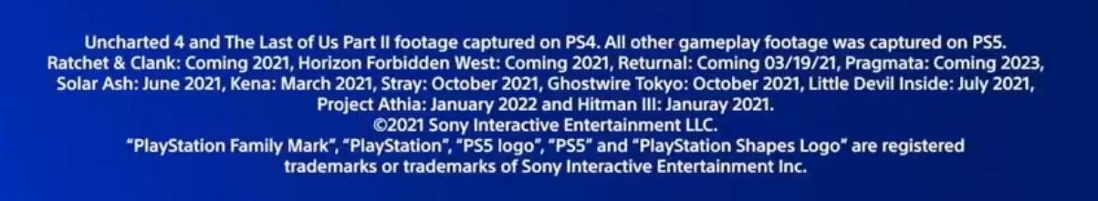 даты выхода громких релизов для PlayStation 5