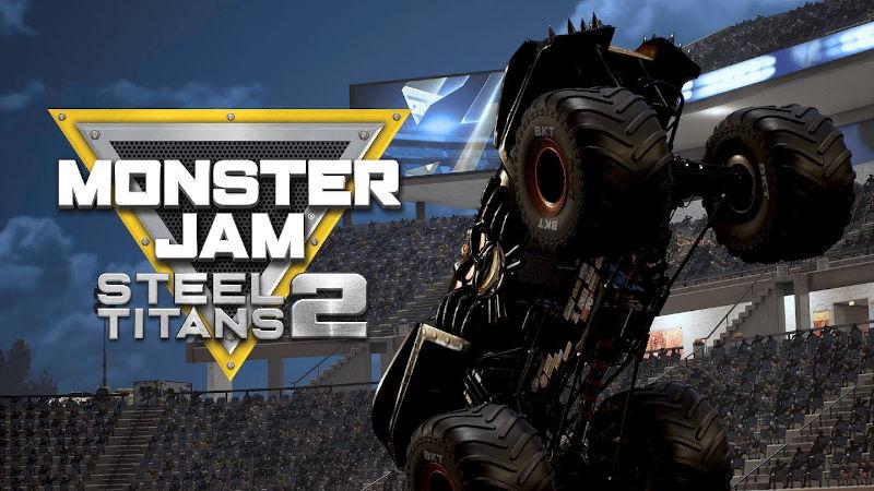 Monster Jam Steel Titans 2 готовится к выходу на PlayStation 4