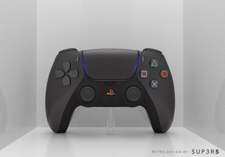 PlayStation 5 в стиле PS2