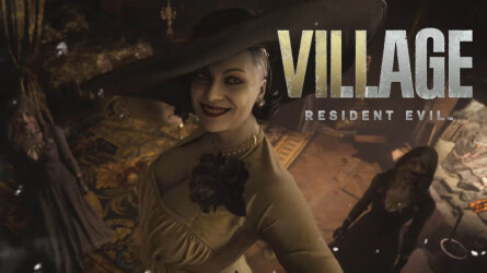 5 минут геймплея Resident Evil Village на PS4 Pro