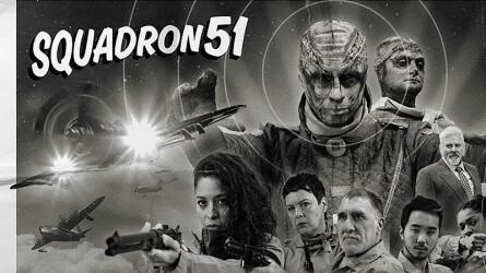 Ретрофутуристическая аркада Squadron 51 готовится к выходу на PlayStation 4